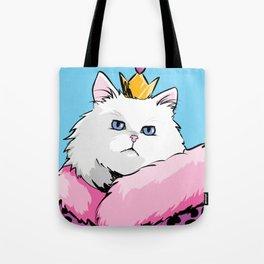 Yass Queen Cat Pop Art Tote Bag