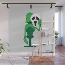 Swamp Thing / Ghostface Wall Mural