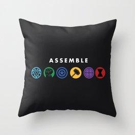 Assemble Throw Pillow