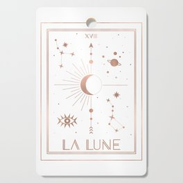 La Lune or The Moon White Edition Cutting Board