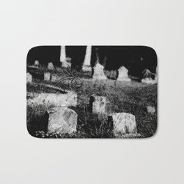 4x5 black and white film photogaph. limited edits. no flters. Bath Mat