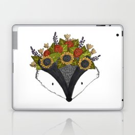 Foral Badger Laptop & iPad Skin