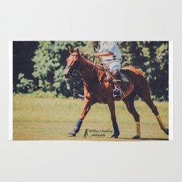 Chestnut Polo Pony Rug