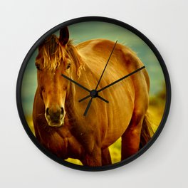 Who you looking at? Wall Clock