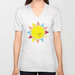 In the sun Unisex V-Neck