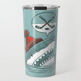 Hockey Shark Travel Mug
