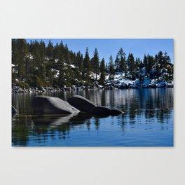 Sand Harbor, Lake Tahoe Canvas Print