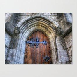 Church Door - St Marys Canvas Print