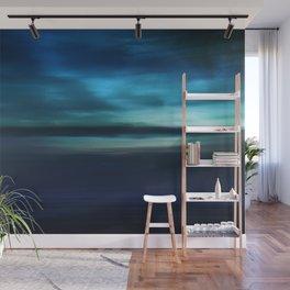 Blue Landscape Wall Mural