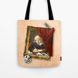 The Scribe's Secret Chamber Tote Bag