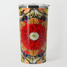 Persian carpet butterflies Travel Mug