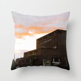 City of Burlington Throw Pillow