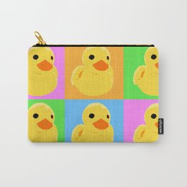 Fuzzy Duck Quad Carry-All Pouch