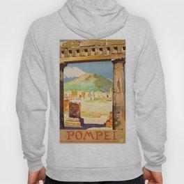 Vintage Pompei Italy Travel Hoody