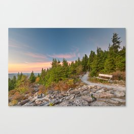 Spruce Knob Twilight Trail Canvas Print