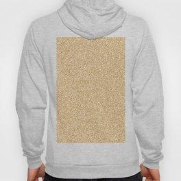 Melange - White and Golden Brown Hoody