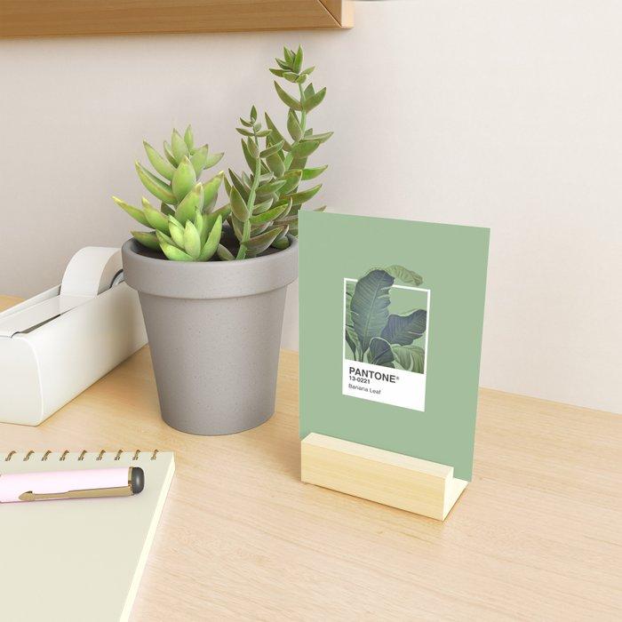 Pantone Series – Banana Leaf Mini Art Print