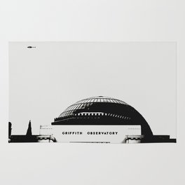 Griffith Observatory LA Rug