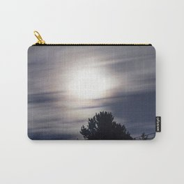 Full moon and clouds Carry-All Pouch