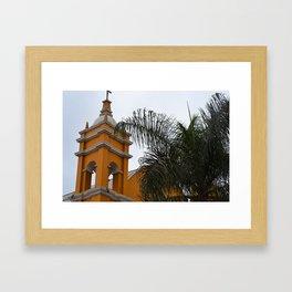 Yellow Villa Framed Art Print