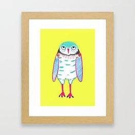 Owl Cute. Framed Art Print