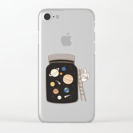 confined space Clear iPhone Case