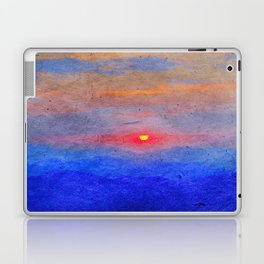 Paper-textured Sunset Laptop & iPad Skin