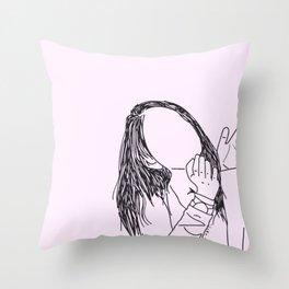 Claudia Throw Pillow