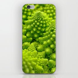 Macro Romanesco Broccoli iPhone Skin