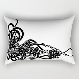 Abstract floral ornament Rectangular Pillow
