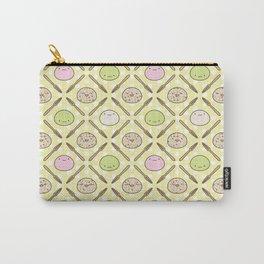 Mochi Kochi | Pattern in Yellow Carry-All Pouch