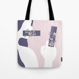 Encumbered Exploration of Existence (Unwritten Honesty) Tote Bag