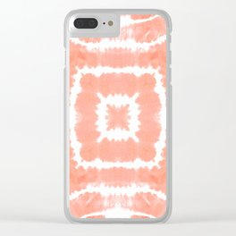FESTIVAL SUMMER - WILD AND FREE - BLOOMING DAHLIA Clear iPhone Case