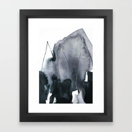 abstract form Framed Art Print