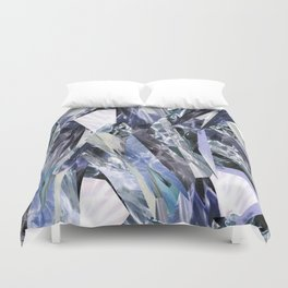 Ice Blue Crystalize Duvet Cover