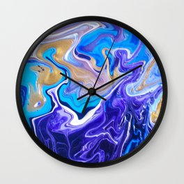 untitledpurp Wall Clock