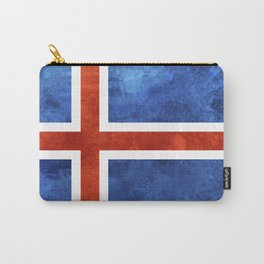 Icelandic Flag Carry-All Pouch