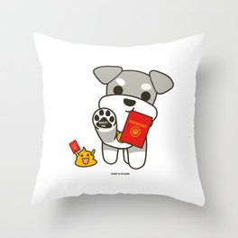 Bring Me With You! Throw Pillow