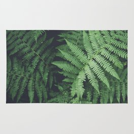 Fern Bush Nature Photography | Botanical | Plants Rug