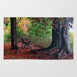 Fall In Henes Park Rug