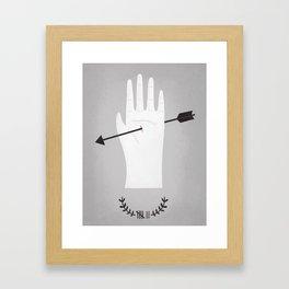 high stake games.  Framed Art Print
