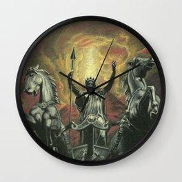 Boudica & Vesuvius Wall Clock