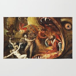 Demons and creatures Rug