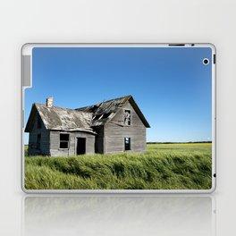 Old Grey Farm House Laptop & iPad Skin