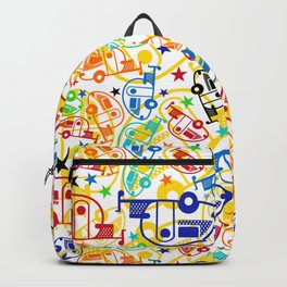 Candy Colored T@Bs Backpack