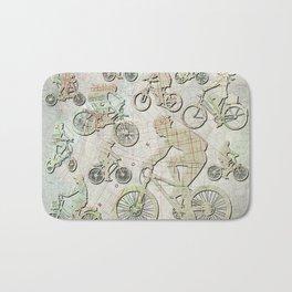 Bike Brooklyn Bath Mat