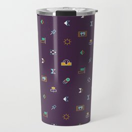 AE Pattern Travel Mug