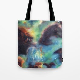Surface Tension (Star Cluster NGC 2074) Tote Bag