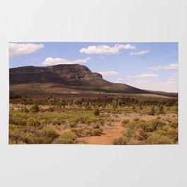 Rawnsley Bluff in the Australian Flinders Ranges Rug
