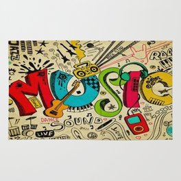 Music Love Rug